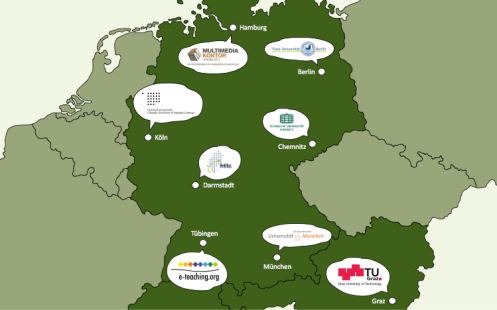 Locations of L3T-Camps in Germany and Austria
